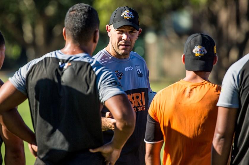 Western Suburbs Magpies Intrust Super Premiership Assistant Coach, John Skandalis.