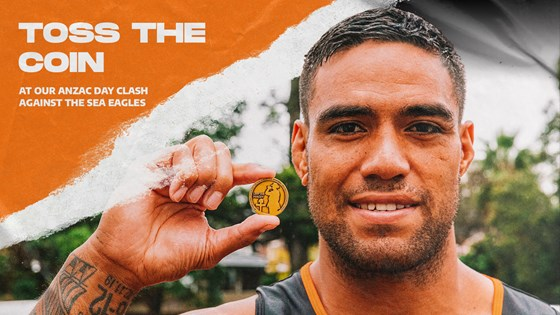 Toss the coin on Anzac Day!