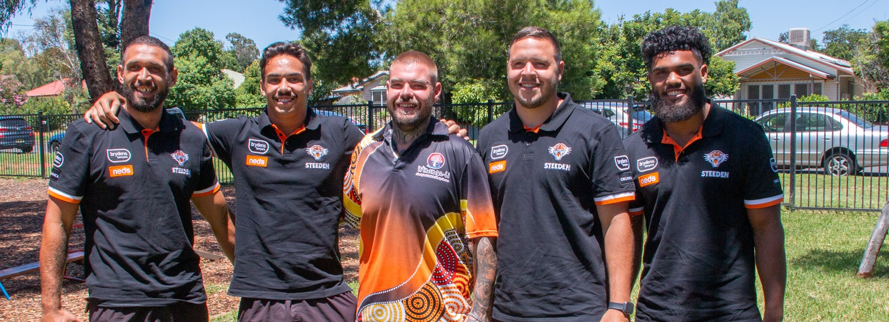 Wests Tigers partner with Winanga-Li Family Centre