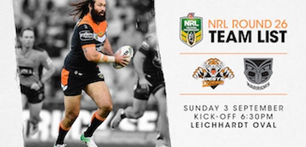 NRL Team Announcement: Round 26