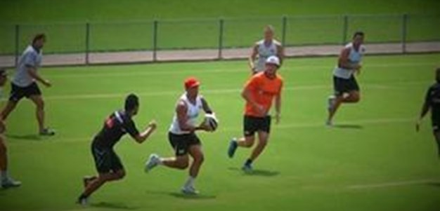 Wests Tigers training - February 1