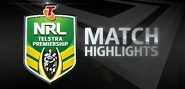 Wests Tigers vs Sea Eagles Rd 20 (Match Highlights)