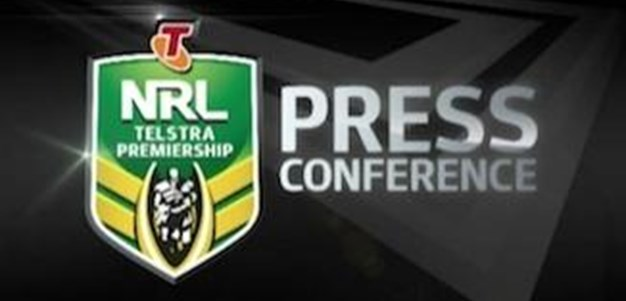 Wests Tigers vs Roosters Rd 23 (Press Conference)