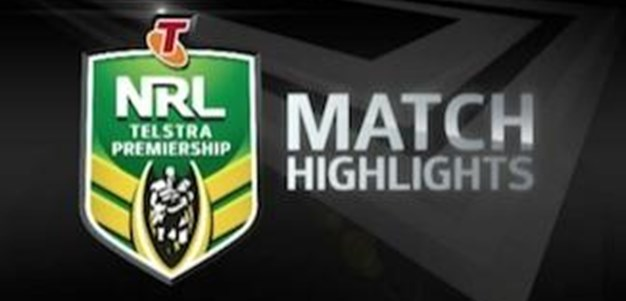 Wests Tigers vs Rabbitohs Rd 25 (Match Highlights)