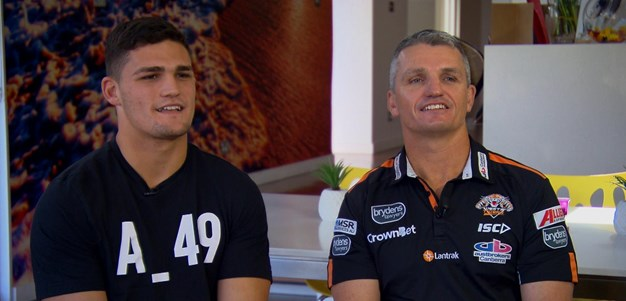 'I'm really proud of him': Nathan on Ivan Cleary