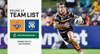 NRL Team Announcement: Round 12