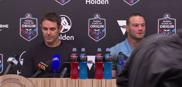 Press Conference: Origin I, NSW