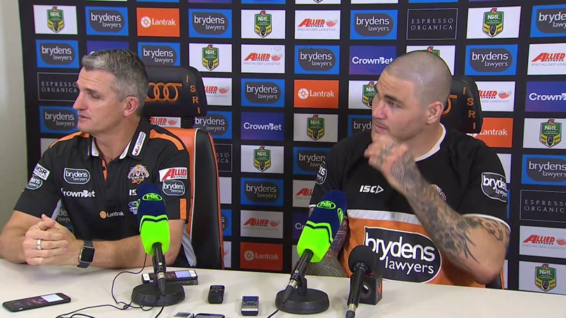 Wests Tigers press conference - Round 16, 2018