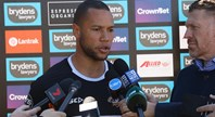 Press Conference: Moses Mbye