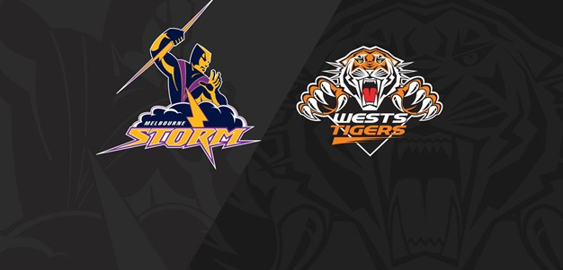 2018 Match Replay: Rd.2, Storm vs. Wests Tigers