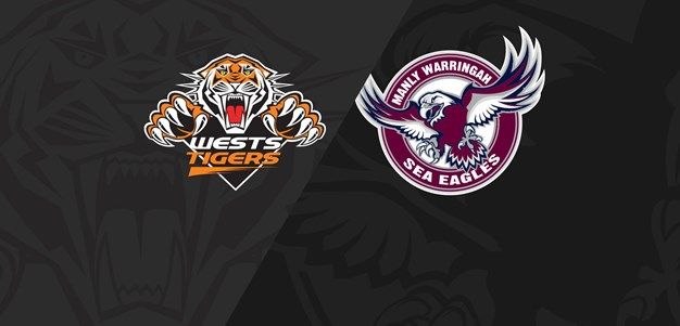 2018 Match Replay: Rd.24, Wests Tigers vs. Sea Eagles