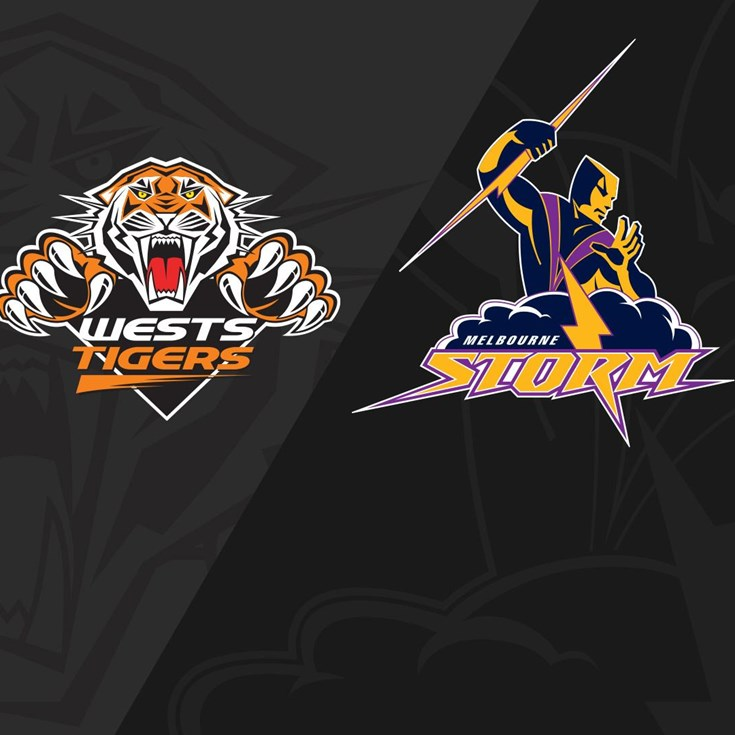 2018 Match Replay: Rd.5, Wests Tigers vs. Storm