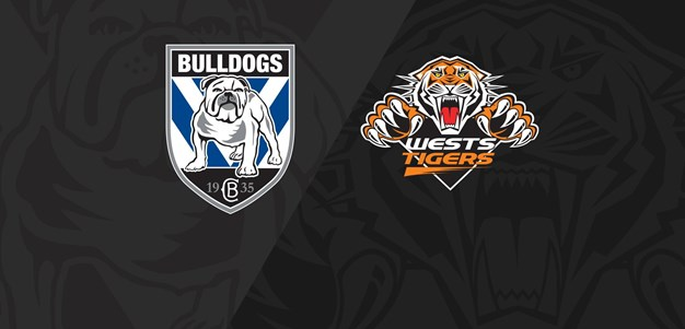 2018 Match Replay:Rd.20, Bulldogs vs. Wests Tigers