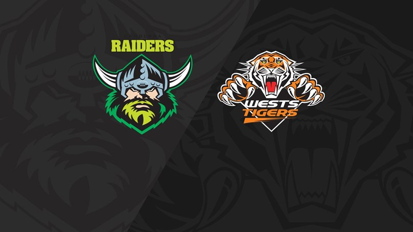 Full Match Replay: Raiders v Wests Tigers - Round 22, 2018