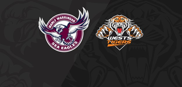 2018 Match Replay: Rd.6, Sea Eagles vs. Wests Tigers