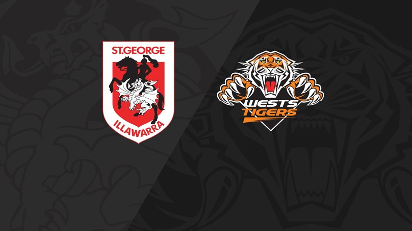 2018 Match Replay: Rd.18, Dragons vs. Wests Tigers
