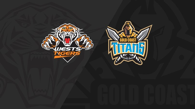 Full Match Replay: Wests Tigers v Titans - Round 16, 2018