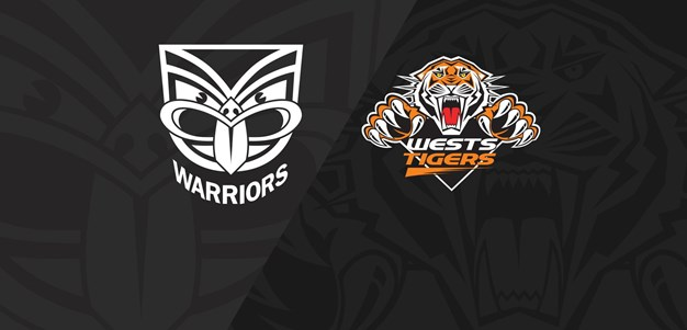 2018 Match Replay: Rd.9, Warriors vs. Wests Tigers