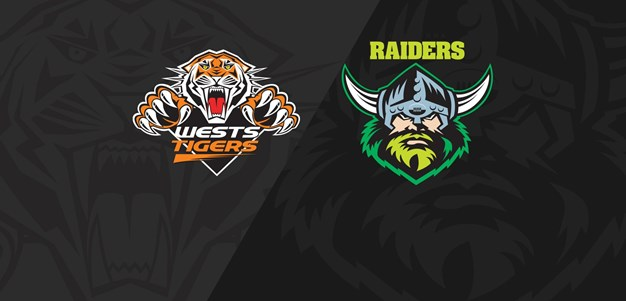 2018 Match Replay: Rd.15, Wests Tigers vs. Raiders