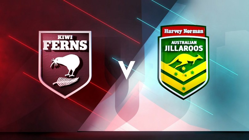 2018 Match Replay: New Zealand Kiwi Ferns vs. Australia Jillaroos