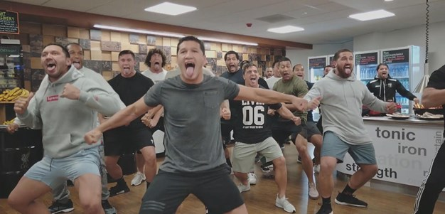 Kiwis mark Liverpool FC visit with stirring haka
