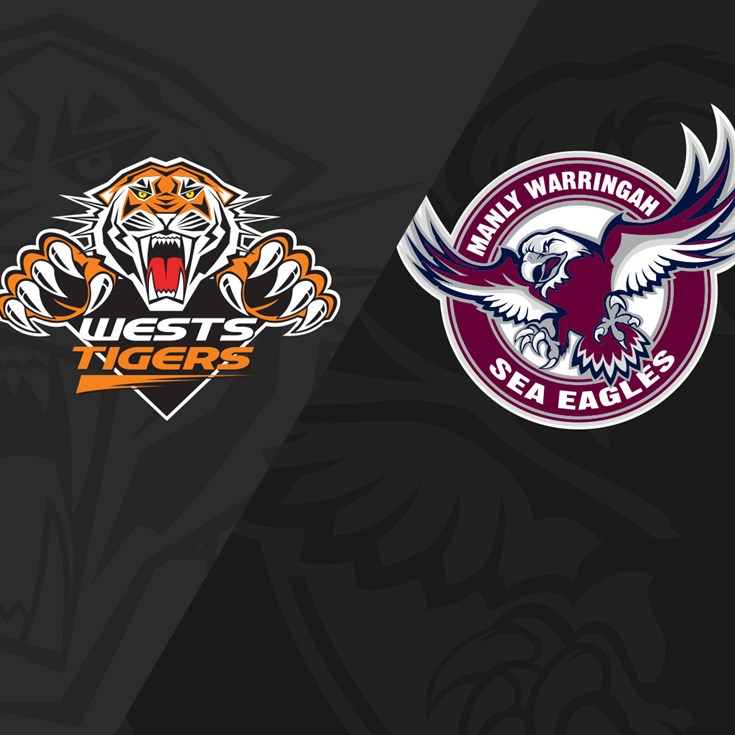 2019 Match Replay: Rd.1, Wests Tigers vs. Sea Eagles