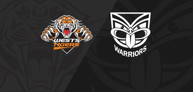 2019 Match Replay: Rd.2, Wests Tigers vs. Warriors