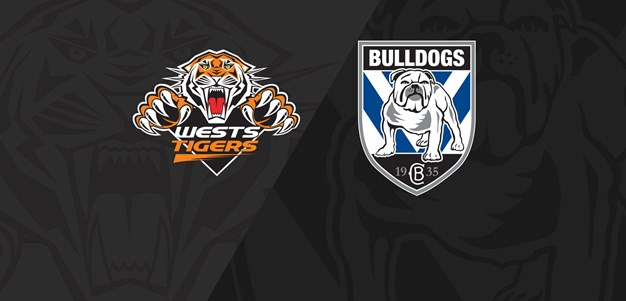 2019 Match Replay: Rd.3, Wests Tigers vs. Bulldogs