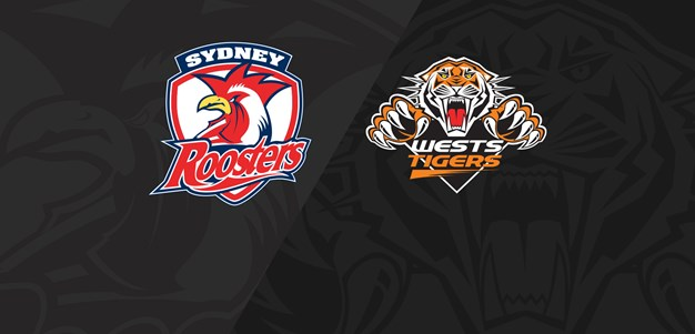 2019 Match Replay: Rd.8, Roosters vs. Wests Tigers