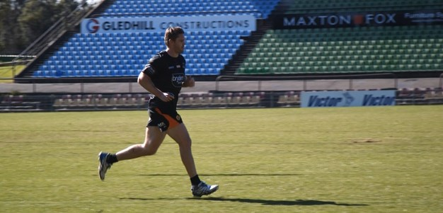 Lawrence on track to return soon for Wests Tigers