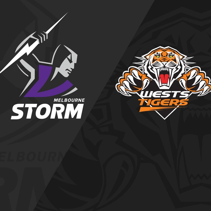 2019 Match Replay: Rd.10, Storm vs. Wests Tigers