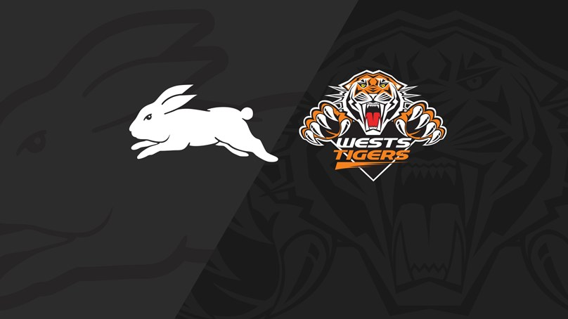 Full Match Replay: Rabbitohs v Wests Tigers - Round 11, 2019