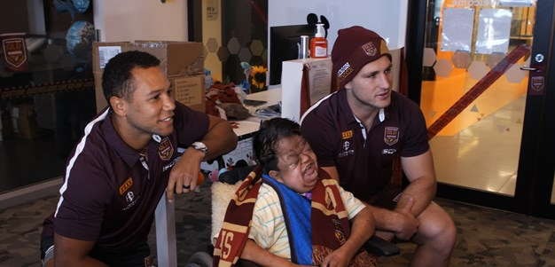 Injured Maroons insist they'll be fit for series opener