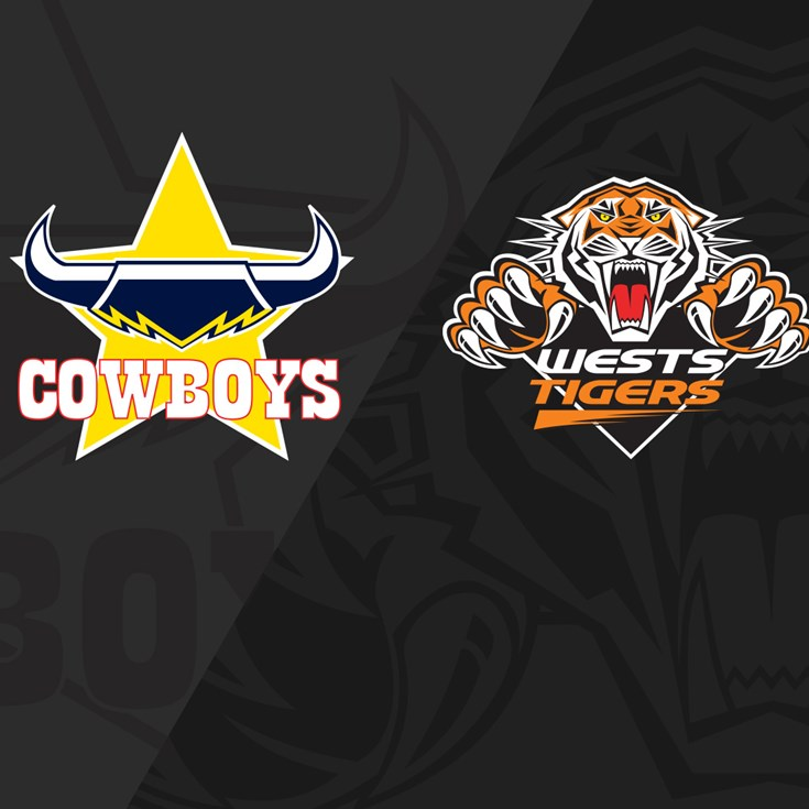 2019 Match Replay: Rd.14, Cowboys vs. Wests Tigers