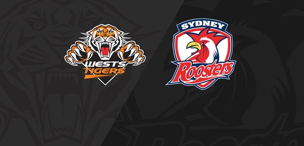 2019 Match Replay: Rd.16, Wests Tigers vs. Roosters