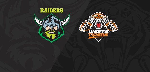 2019 Match Replay: Rd. 18, Raiders vs Wests Tigers