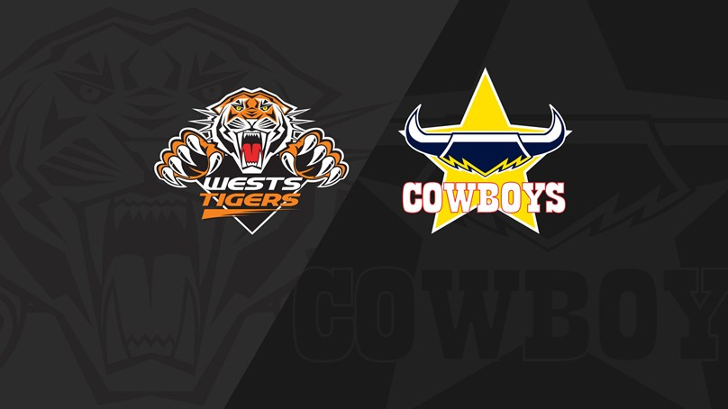 Full Match Replay: Wests Tigers v Cowboys - Round 20, 2019