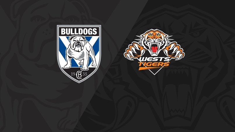2019 Match Replay: Rd.21, Bulldogs vs. Wests Tigers