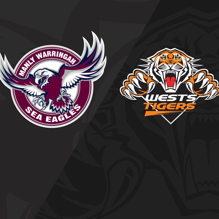 2019 Match Replay: Rd.22, Sea Eagles vs. Wests Tigers
