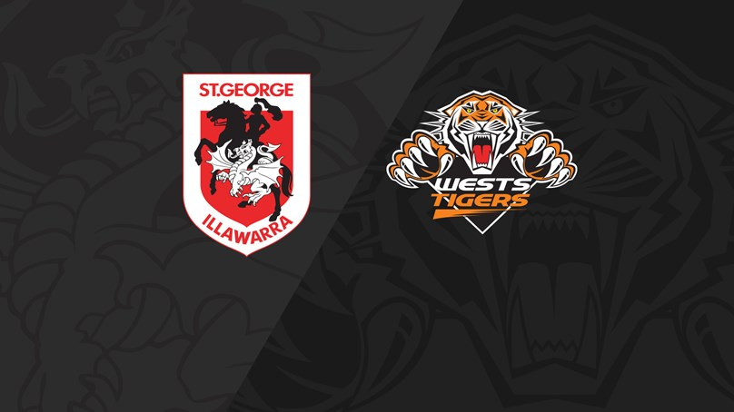 2019 Match Replay: Rd.24, Dragons vs. Wests Tigers