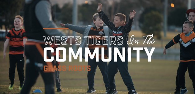 Wests Tigers Community Programs: Grass Roots