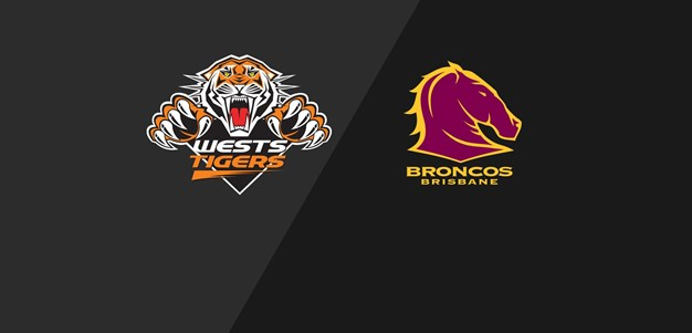 2000 Match Replay: Rd.1, Wests Tigers vs. Broncos