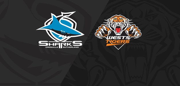 2020 Match Replay: Rd.3, Sharks vs. Wests Tigers