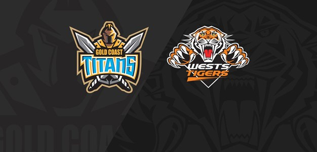 2020 Match Replay: Rd.4, Titans vs. Wests Tigers