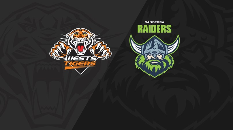 2020 Match Replay: Rd.5, Wests Tigers vs. Raiders