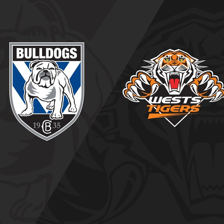 2020 Match Replay: Rd.7, Bulldogs vs. Wests Tigers