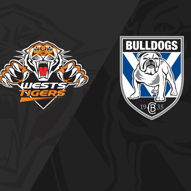 2020 Match Replay: Rd.14, Wests Tigers vs. Bulldogs