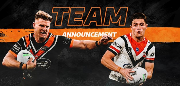 NRL Team Announcement: Round 15
