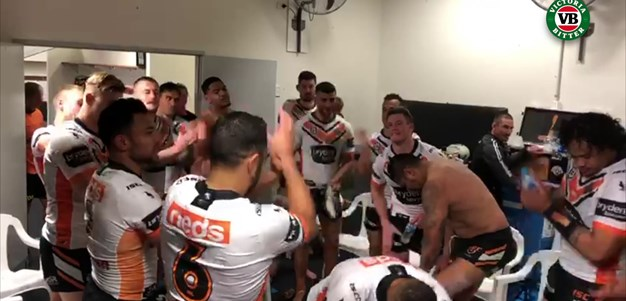 Sing the team song with the boys!