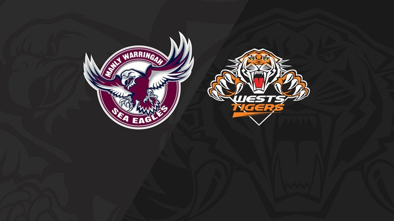 2020 Match Replay: Rd.17, Sea Eagles vs. Wests Tigers